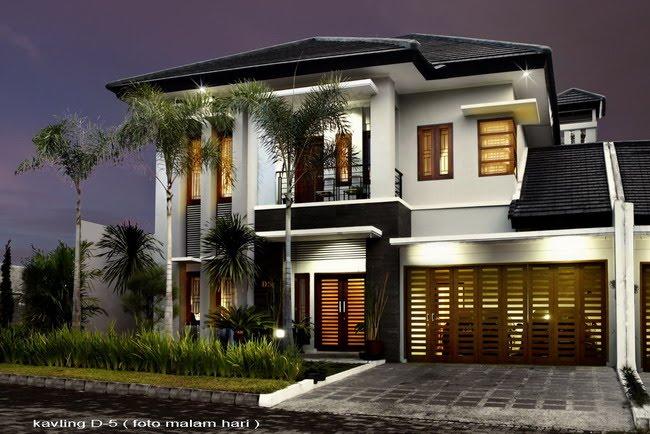 Denah Rumah Minimalis 2 Lantai Type 130 145 175 210 220