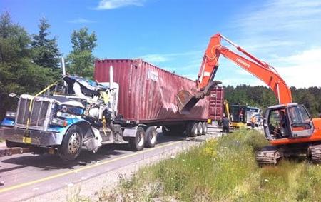 Truck Driving Fails 22-12-2016