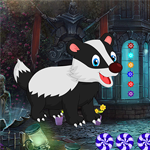 Play Games4King Rescue The Cartoon Badger