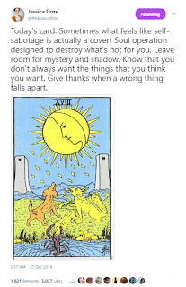 Tarot Card--Don't Always Want What You Think You Want