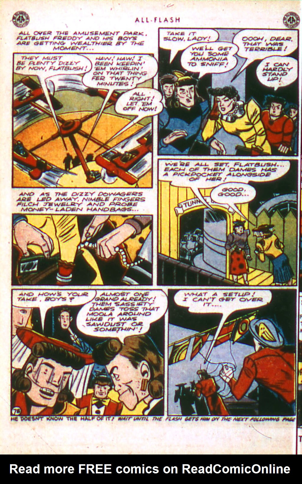 Read online All-Flash comic -  Issue #18 - 24