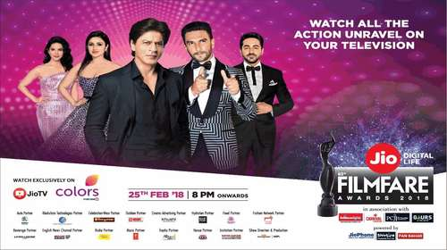 Filmfare Awards HDTV 450MB 480p Main Event 25 February 2018 Watch Online Full Free Download bolly4u