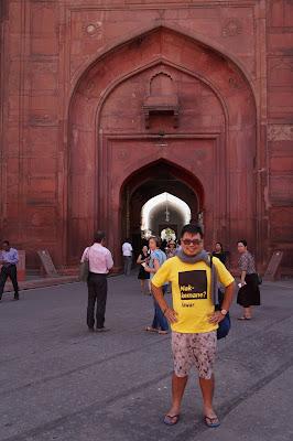 Gerbang Masuk menuju Lahore Gate