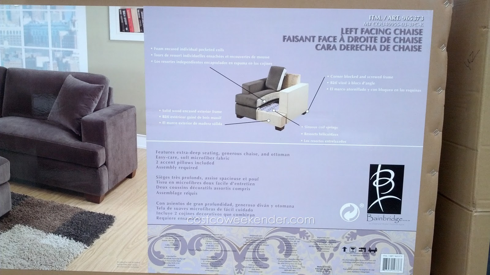 bianca sectional sofa costco furniture hd wallpaper emerald home baci living room