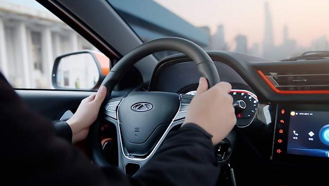 Novo Chery Tiggo 2018 - volante multifuncional + piloto automático