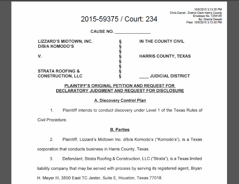 Houston Courts & Cases: Owner of Komodo's Pub in Midtown ...