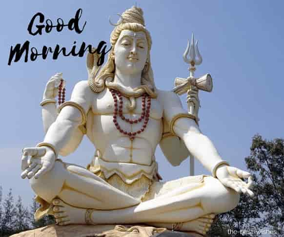 om namah shivay good morning image