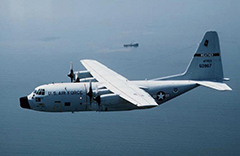 Lockheed C-130 Hercules Transport Aircraft