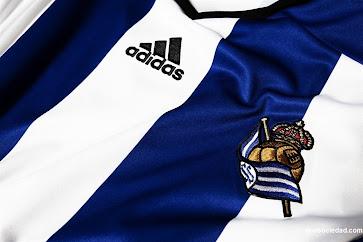 Adidas camiseta titular Real Sociedad