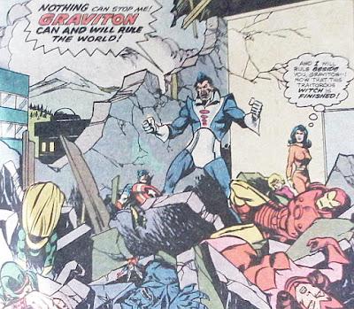 Avengers #158, Graviton triumphant
