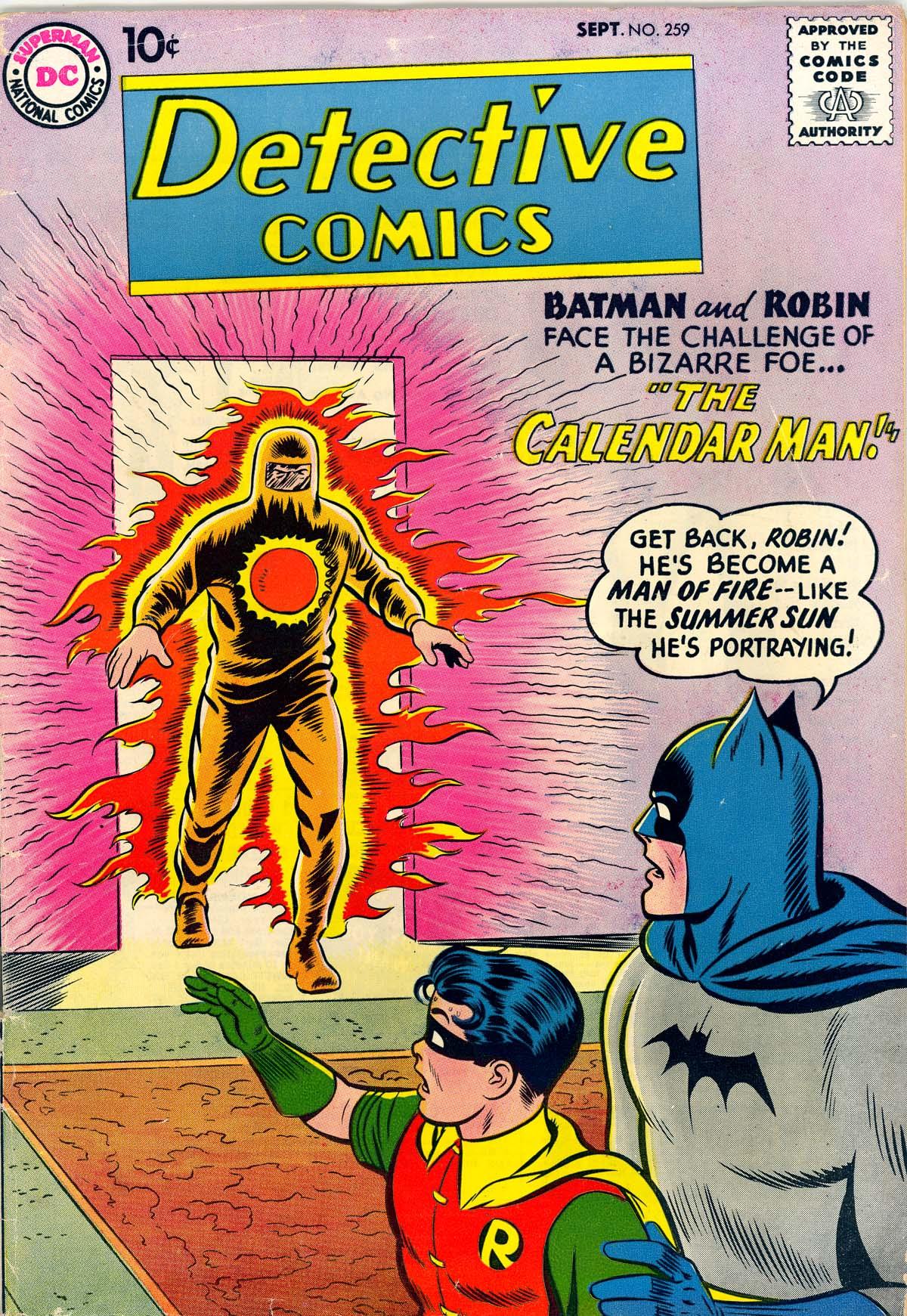 Detective Comics (1937) 259 Page 1
