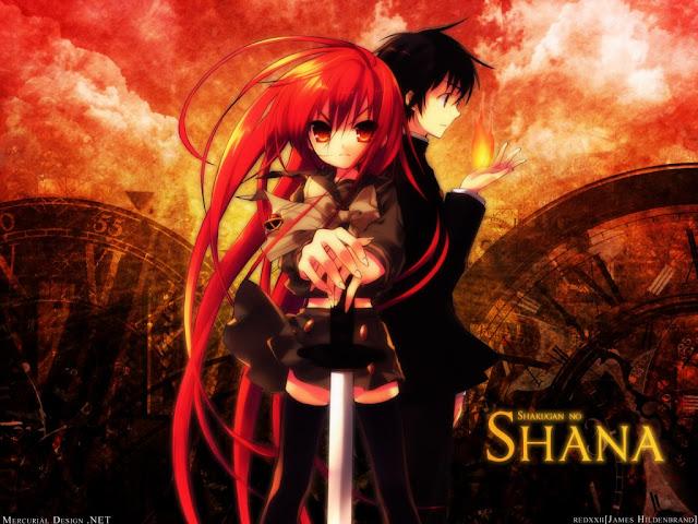 Shakugan no Shana (Drama, Sobrenatural, Romance, Escolar, Acción)