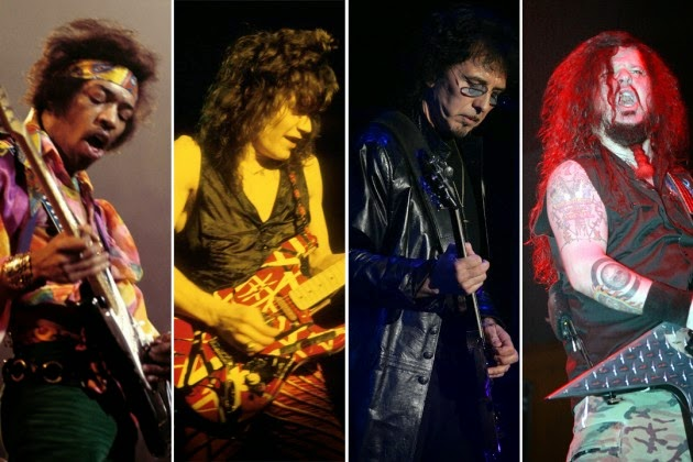 「歴代最高のハードロック/メタル・ギタリスト TOP50」