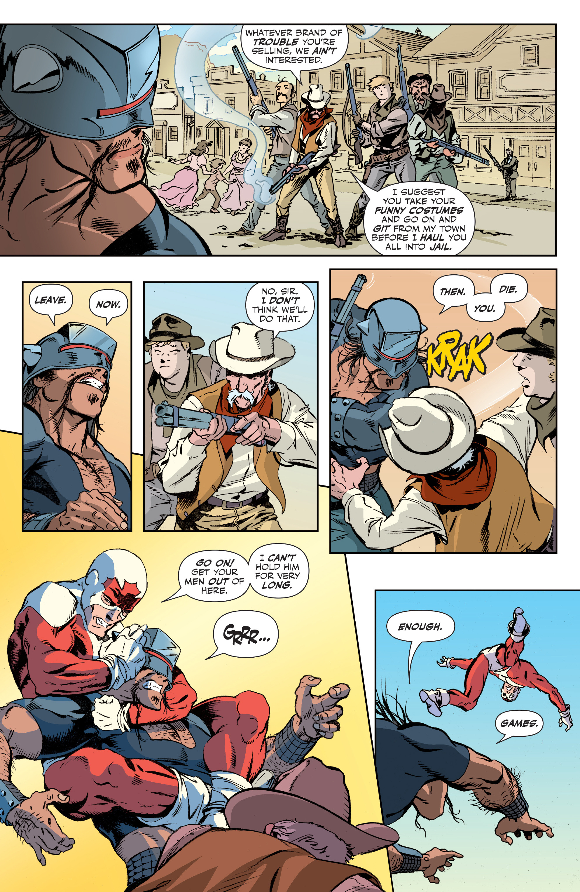 Read online All-New Classic Captain Canuck comic -  Issue #2 - 7