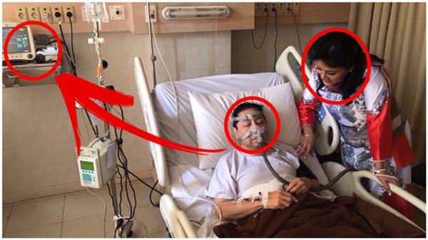 NGERI!! Begini Reaksi Netizen Usai Melihat Foto Setya Novanto Terbaring Lemah di Rumah Sakit yang Penuh Kejanggalan!