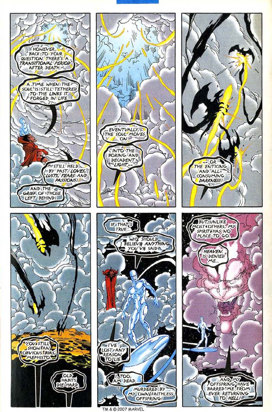 Read online Silver Surfer (1987) comic -  Issue #136 - 13