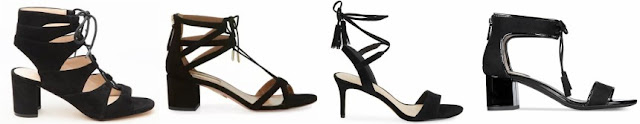 One of these pairs of lace-up sandals is from Aquazzura for $695 and the other three are under $100. Can you guess which one is the designer pair?