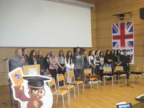 مجموعة مدارس الإقامة بخريبكة تنظم مسابقة في القراءة السريعة لتلامذتها في اللغة الإنجليزية