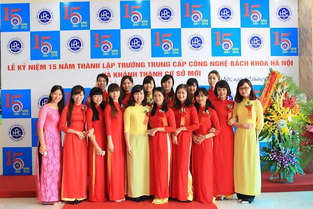 Tuyển sinh Trung cấp Công nghệ Bách khoa Hà Nội 2016