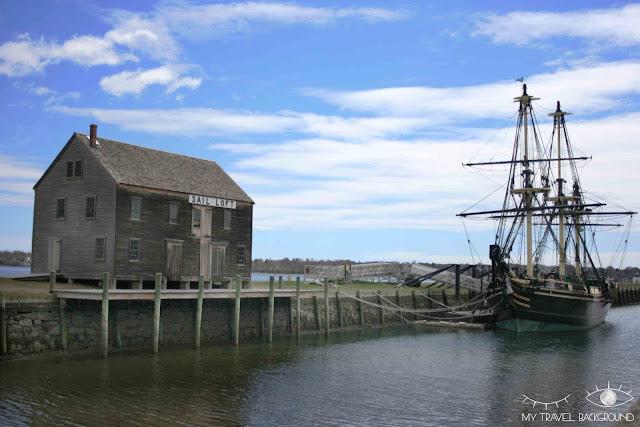 My Travel Background : Halloween à Salem - Salem Maritime - le Friendship of Salem, la réplique d'un bateau de 1797