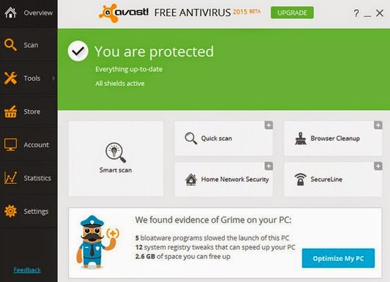 Download Antivirus Avast Free Terbaru 2015