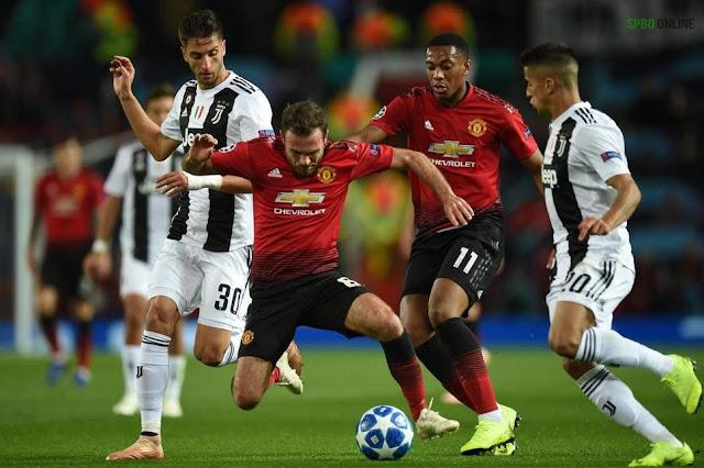 Prediksi Bola Juventus vs Manchester United Liga Champions