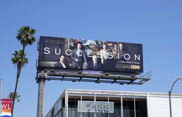 Succession season 1 billboard