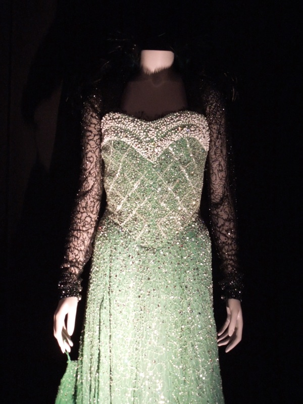 Evanora Emerald City dress Oz Great Powerful