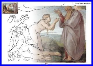 A Criação de Eva - Michelangelo