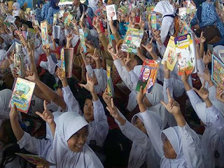 Rampak Nulis dan Rampak Baca Perpustakaan Kabupaten Bandung