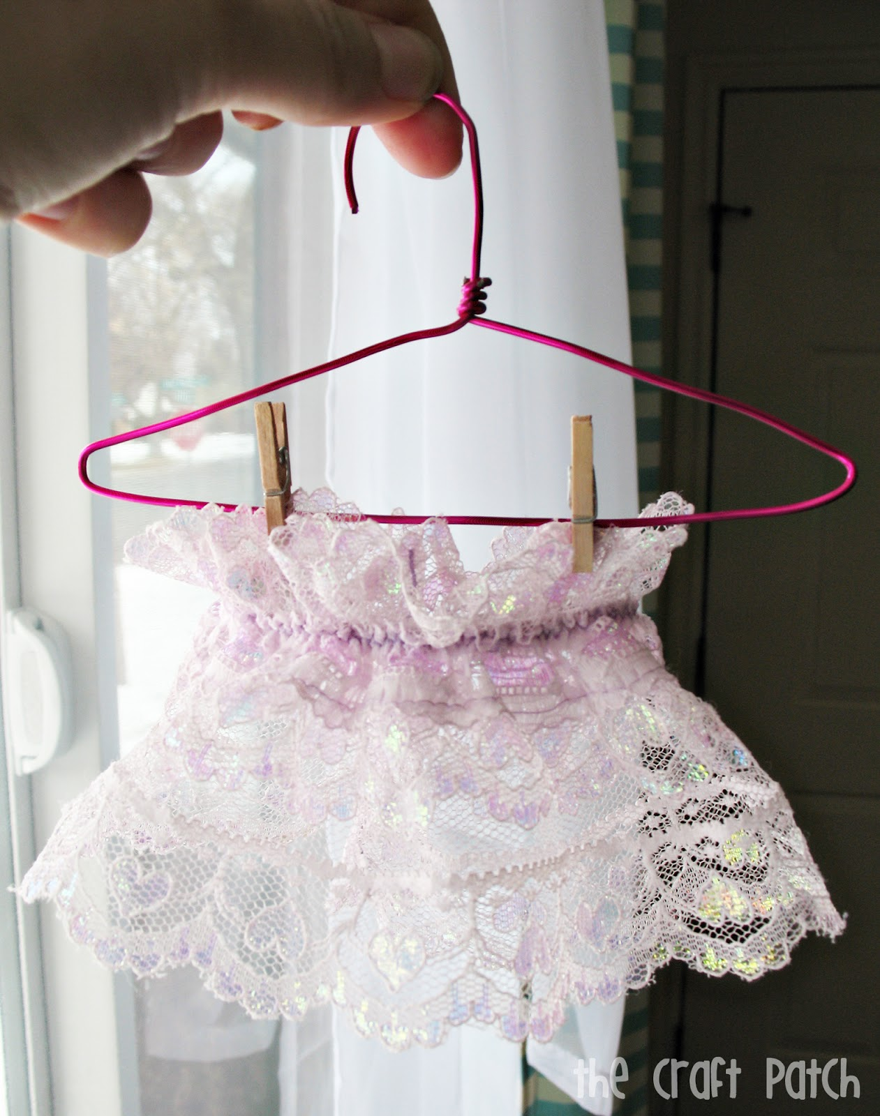 DIY Dolly Hangers with The Craft Patch - Peek-a-Boo Pages ...