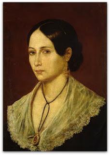 Retrato de Anita Garibaldi (1845) - Gaetano Gallino, Montevidéu