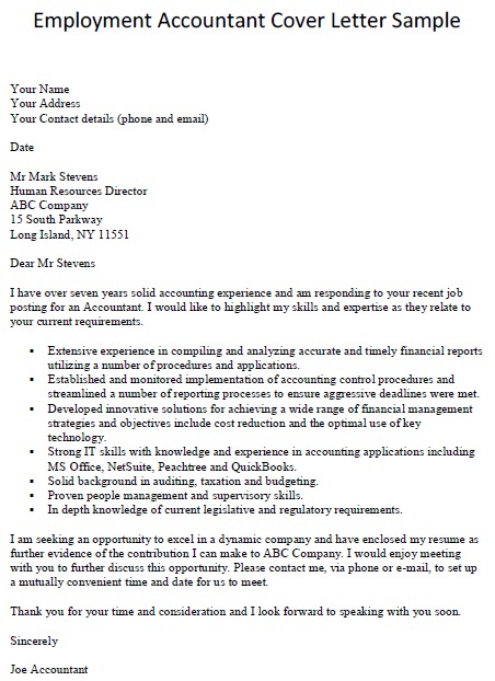 how to write a cover letter for an accounting internship - accounting cover letter slim image