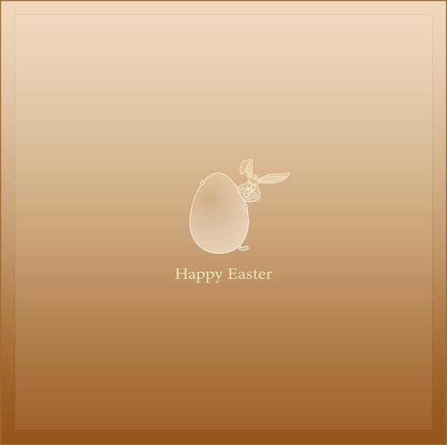 Easter Sunday 2018 Bunny & Egg Card