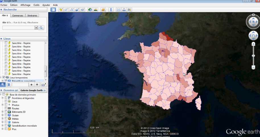 Shapefile to kml