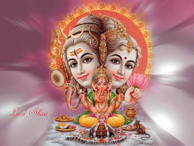 godess-parvati-and-godshivji-with-cutebaby-ganeshji-hdpics