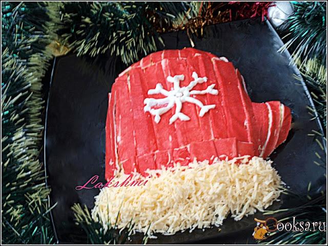 "блюда ""Человечки"", блюда ""Дед Мороз"", блюда ""Санта-Клаус"", салат фигурный, блюда новогодние, рецепты, рецепты новогодние, рецепты праздничные, салат новогодний, стол новогодний, салаты салат слоёный, салат с яйцами, салат с крабовыми палочками, салат с рисом, http://eda.parafraz.space/"
