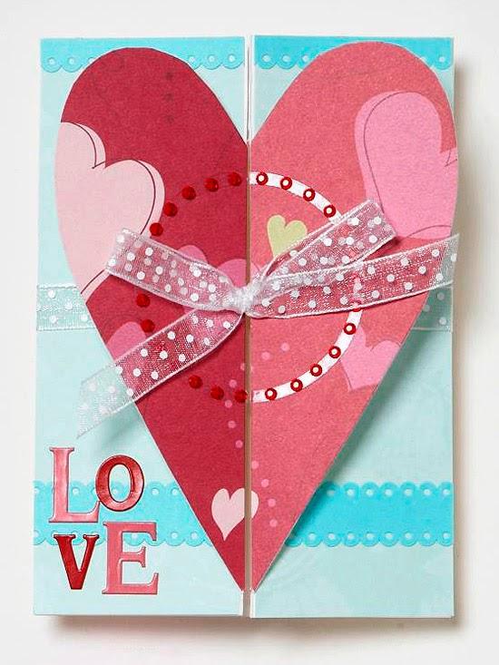 Modern Furniture Easy Handmade Valentine S Day Cards 2014 Ideas