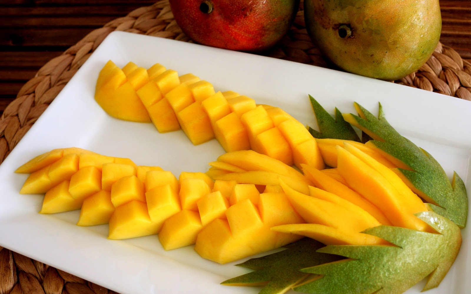 Josephine U0026 39 S Recipes  How To Make Mango Flowers