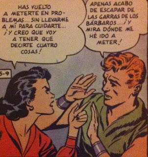 Flash gordon abroncado por Dale Arden