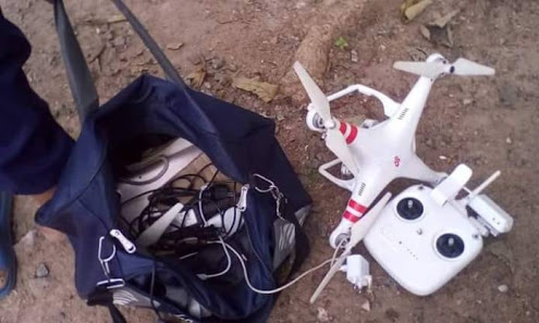 Woman, Male Friend Nabbed for Using Drone to Monitor Osoba's House (Photos)