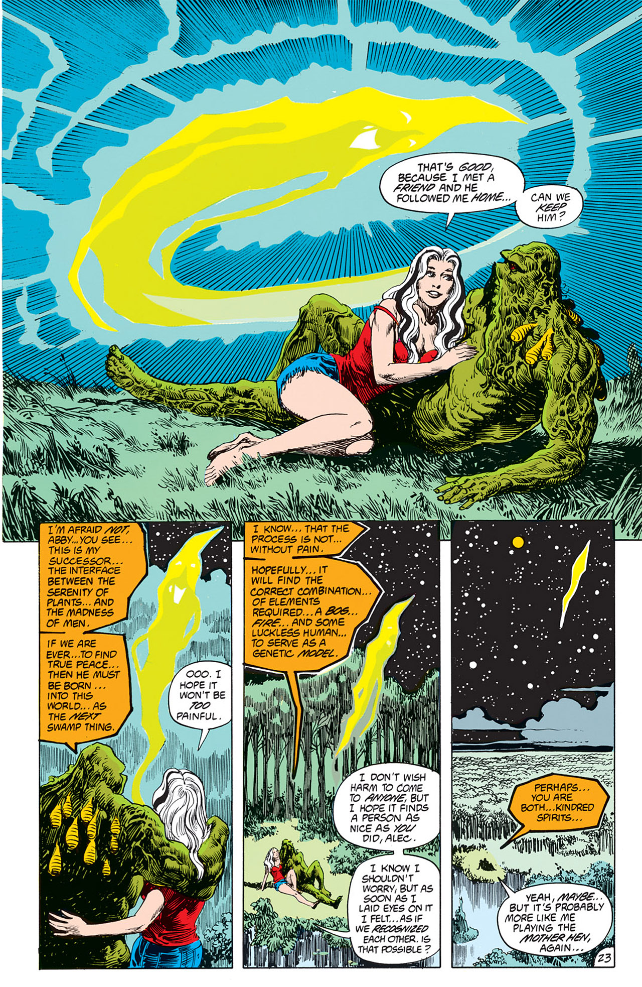 Swamp Thing (1982) Issue #66 #74 - English 23