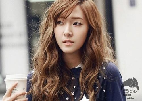 model gaya rambut korea wanita
