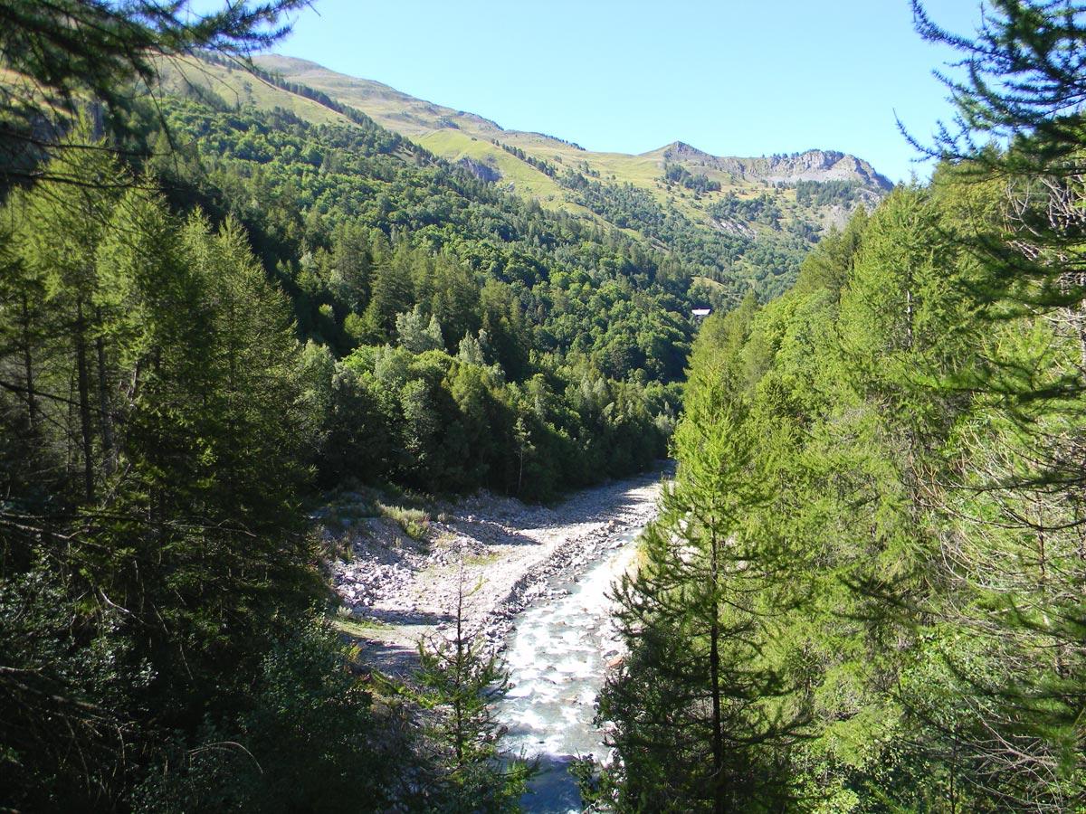 Rivière Valloire été