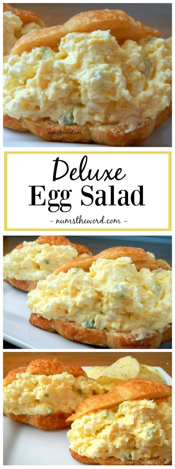 Deluxe Classic Egg Salad Recipe