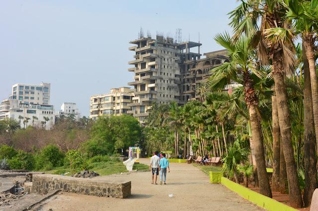 La corniche de Mumbai