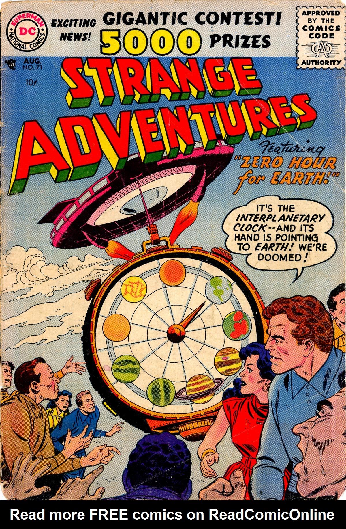 Strange Adventures (1950) issue 71 - Page 1