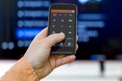 Cara Menggunakan HP Android Untuk dijadikan Remote TV