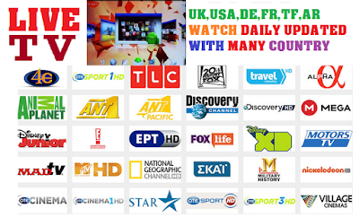 Kodi M3u IPTV With Many Country-Download IPTV M3u Link For IPTV- Kodi-XBMC