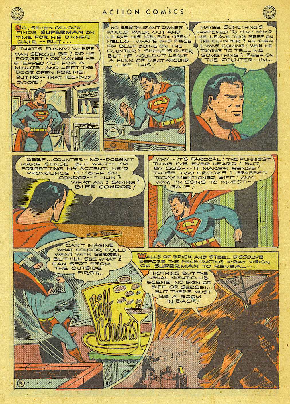 Read online Action Comics (1938) comic -  Issue #78 - 10